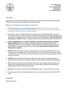 Smiths Station Roads change email to constituents part 1